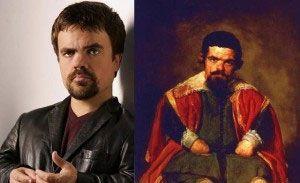 Bufón Don Sebastián De Morra De Velázquez y Peter Dinklage
