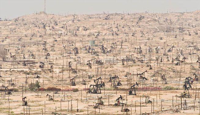 Campo petrolero río Ken, California (EE.UU.) - explotada desde 1899