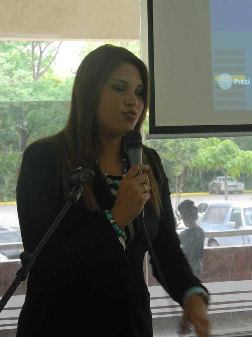 Gerente Nacional de Sucursales y Agencias, Jessica Rodríguez