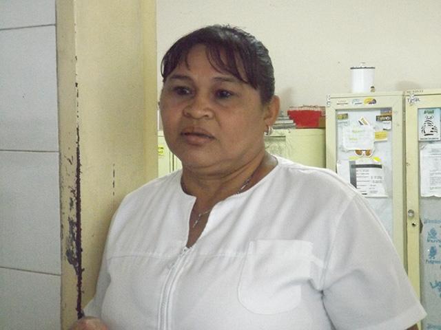 Milvida Puro, enfermera del Padre Lazo