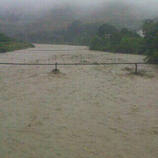 Crecida rio Boconó