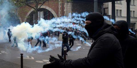 Protesta en Francia dejó 78 policías heridos