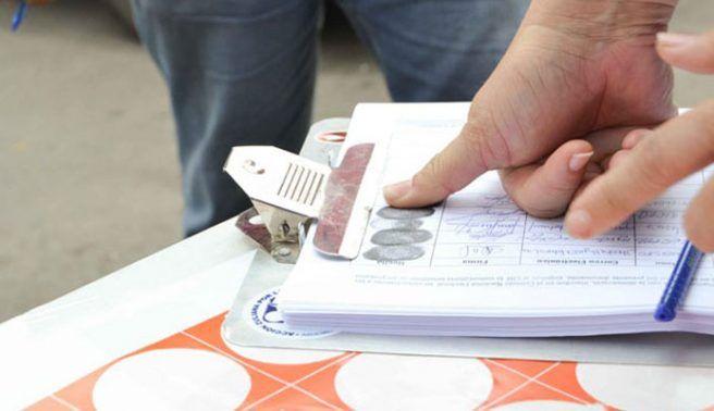 CNE aprobó el  informe del 1% de las firmas