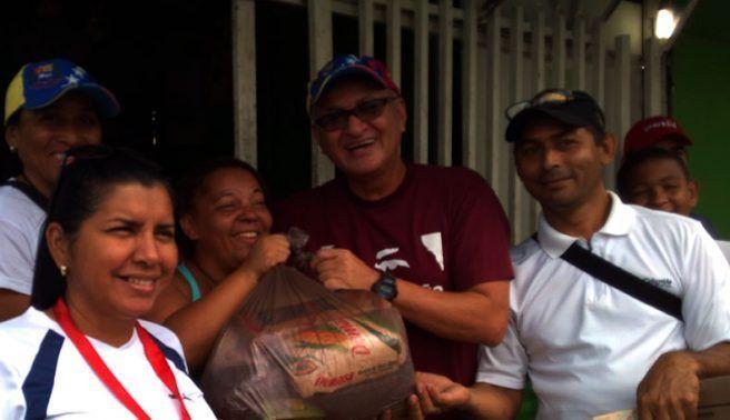 4.800 bolsas de alimentos llegaron a Ribas