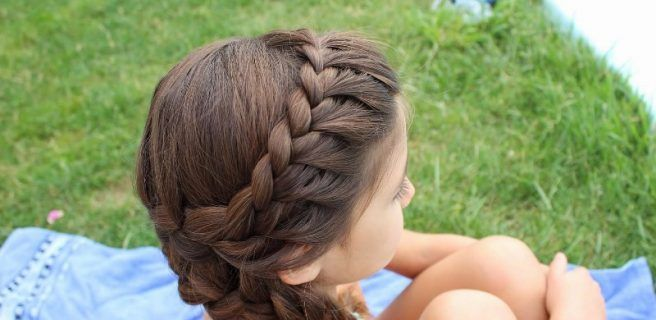 Trenzas para ninas peinados faciles y rapidos para pelo - Trenzas para nina faciles ...