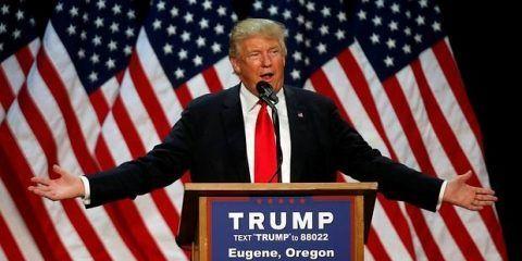Trump dice que se gastará 100 millones de dólares para ganar