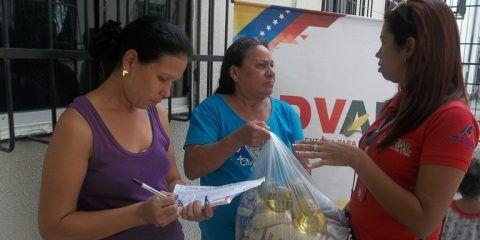 PDVAL y los CLAP atendieron 988 familias de Los Aviadores
