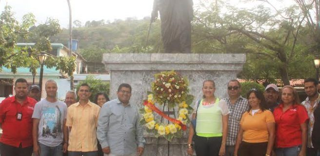 Ribas conmemoró 195 años de la Batalla de Carabobo