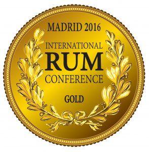 Medalla Oro Congreso del Ron_Madrid 2016