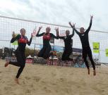 Comienza Liga Nacional de Voleibol de Playa