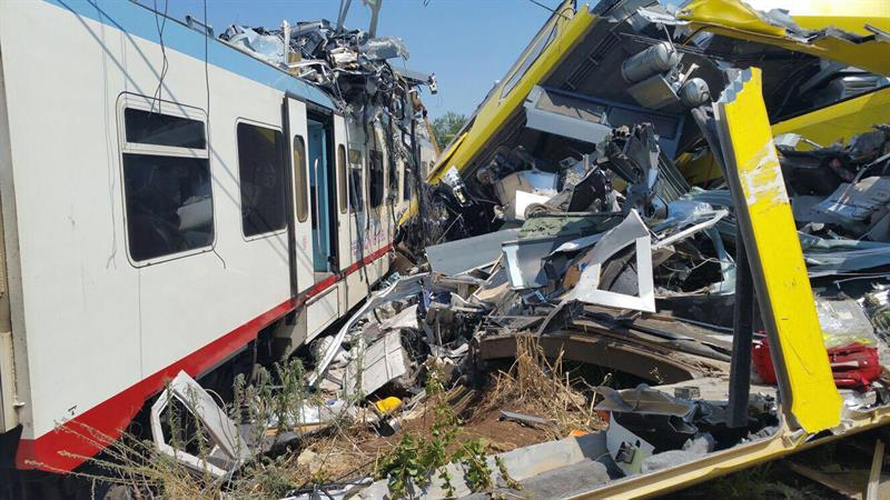 Choque de Trenes en Italia