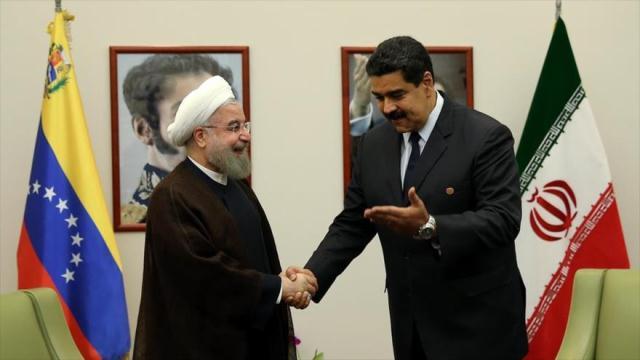 Maduro se reúne con Hassan Rohani