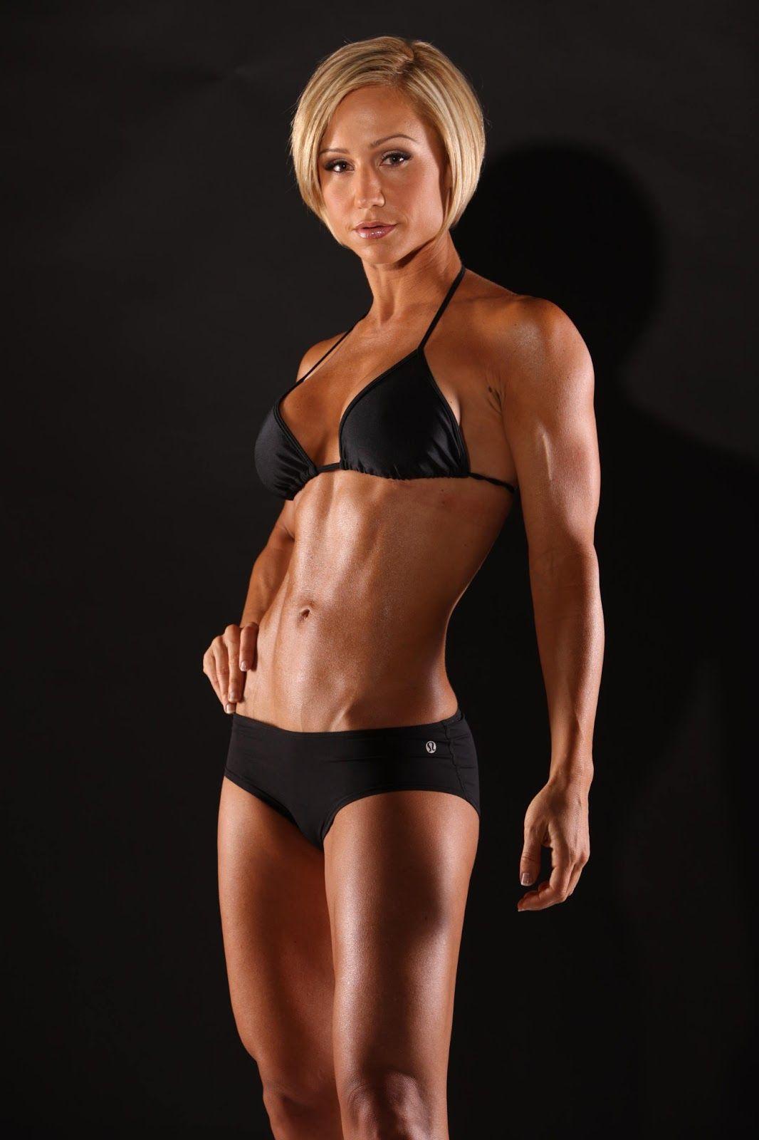 nude fitness model woman