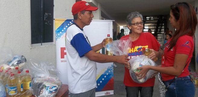 PDVAL garantizó más de 90 toneladas de alimentos en  diciembre