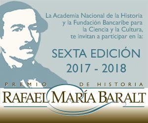 6ta edición premio Rafael Maria Baralt