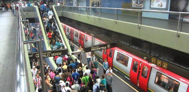 Cerradas 21 estaciones del Metro de Caracas