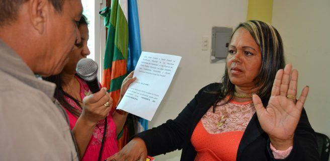 Malavé es la presidenta del Concejo Municipal