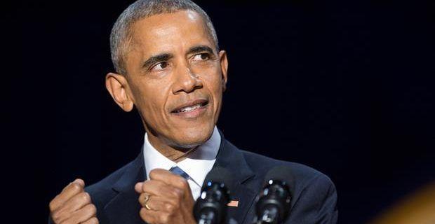 Con este discurso se despidió Barack Obama de su presidencia