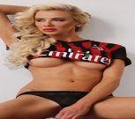 Martina Stetiarova, la sensual musa del AC Milan