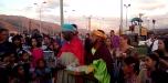 Ribenses recibieron a los Reyes con afecto