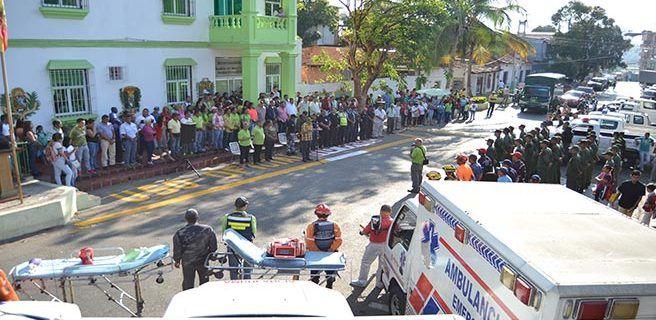Arranca operativo de seguridad de los IV Carnavales Las Tejerías
