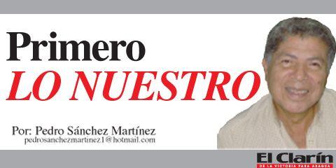 Primero Lo Nuestro: Pedro Sánchez Martínez
