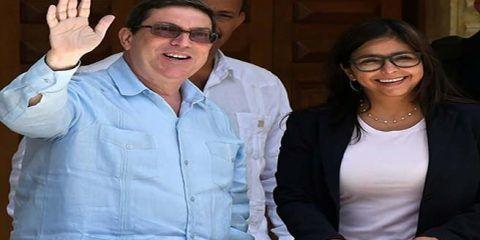 Canciller estrecha lazos con Cuba