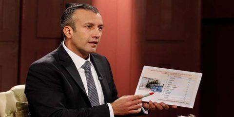 """El Aissami: EE.UU. no tiene """"prueba alguna"""""""