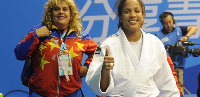 Elvismar Rodríguez subió al cuarto lugar del ranking mundial de judo