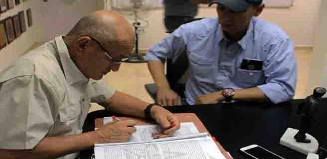 Firman convenio de suministro de asfalto para Santiago Mariño