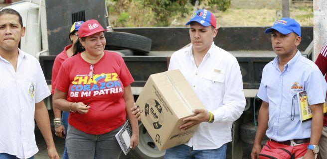 CLAP atendió 2.332 familias de San Sebastián de los Reyes