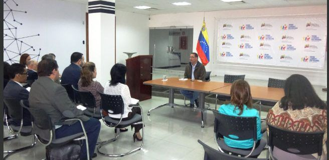 Ministro Faría se reunió con la Cámara de Empresas Venezolana-Británicas