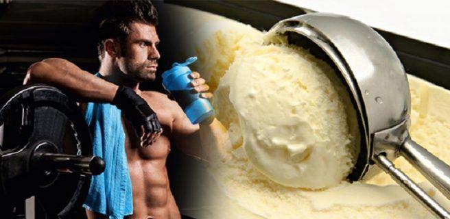 Prueba este helado de proteínas ideal para ganar masa muscular
