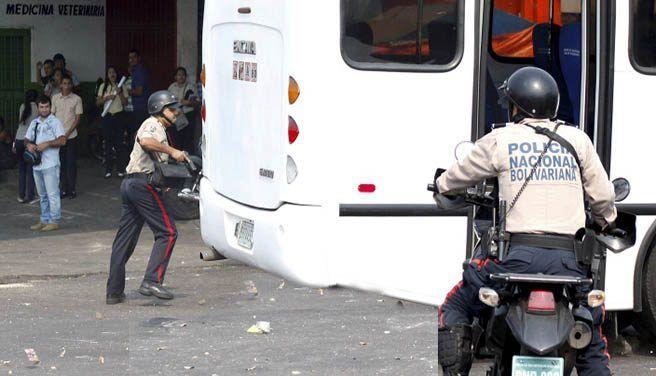 Secuestro de autobús deja un herido