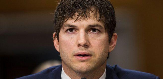 El apasionado testimonio de Ashton Kutcher contra el tráfico sexual