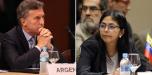 Venezuela rechaza declaraciones de Macri
