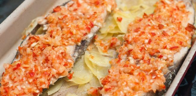 Una receta fácil con un sabor increíble: Pescado al horno