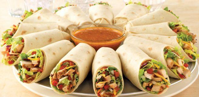 Wraps de verduras ¡Fáciles de preparar, muy versátiles y transportables!