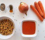 Falafels al horno con salsa picante