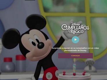 Para Disney, el cumpleaños es uno de los eventos más esperados por los chicos,