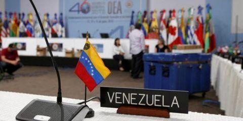 """20 países de la OEA buscarán """"soluciones"""" para Venezuela"""