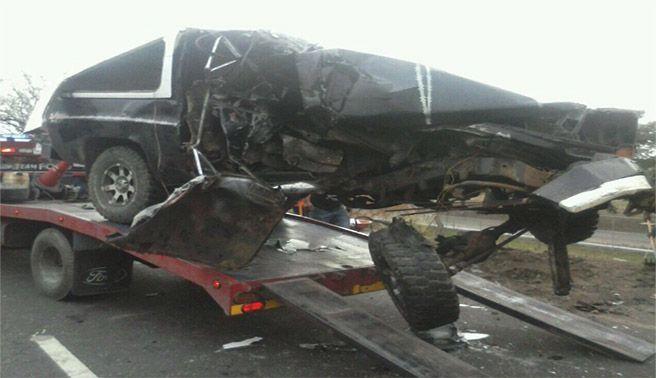 Accidente en la ARC deja dos muertos