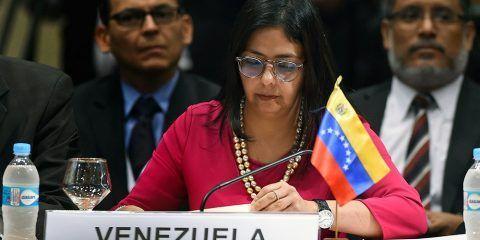 """Canciller denuncia """"acciones injerencistas"""" de Almagro"""
