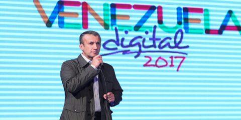 El Aissami llama a construir plataforma de socialismo digital
