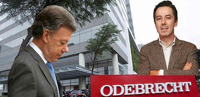 Exgerente de campaña de Santos admite que aceptó dinero de Odebrecht