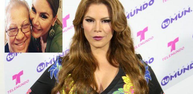 Falleció la madre de Olga Tañón