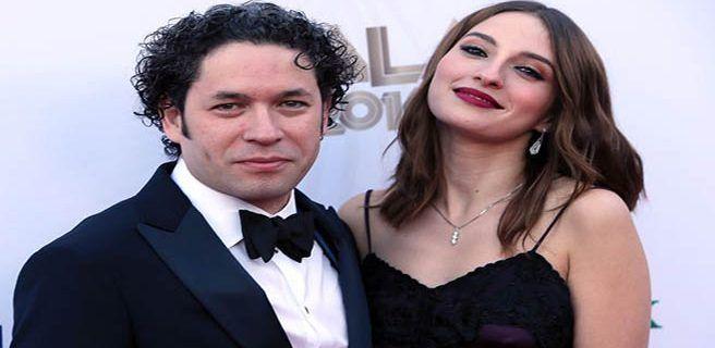 Gustavo Dudamel se casó en Las Vegas con María Valverde