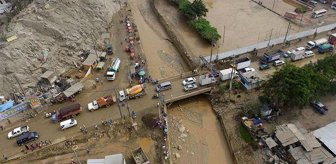 Intensas lluvias en Ecuador dejan 13 muertos
