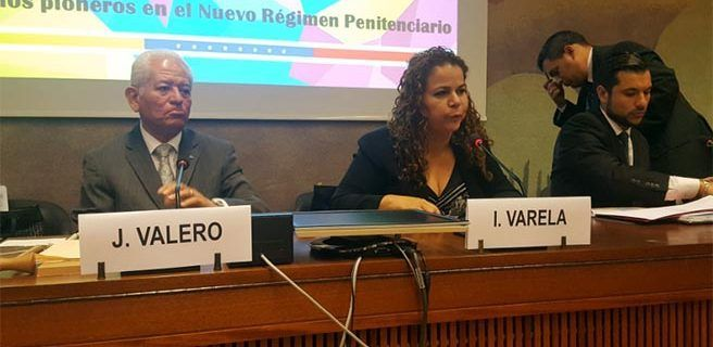 Iris Varela presentó logros penitenciarios ante la ONU