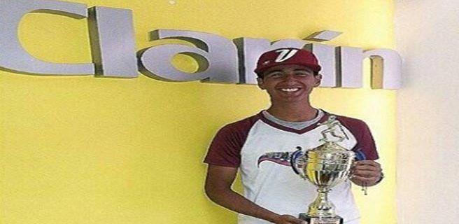 Josduard González: beisbolista victoriano con talento